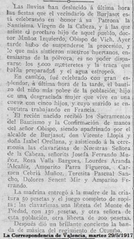 La Correspondencia de Valencia, 29.05.1917